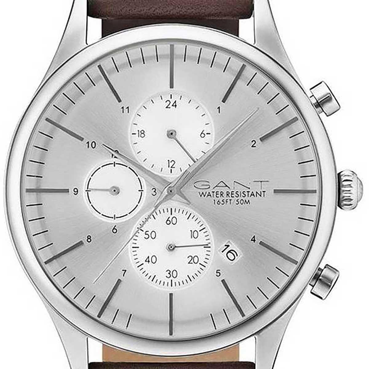 GANT ガント 電池式クォーツ 腕時計 [GT030005] 並行輸入品 カレンダー セカンド・タイム