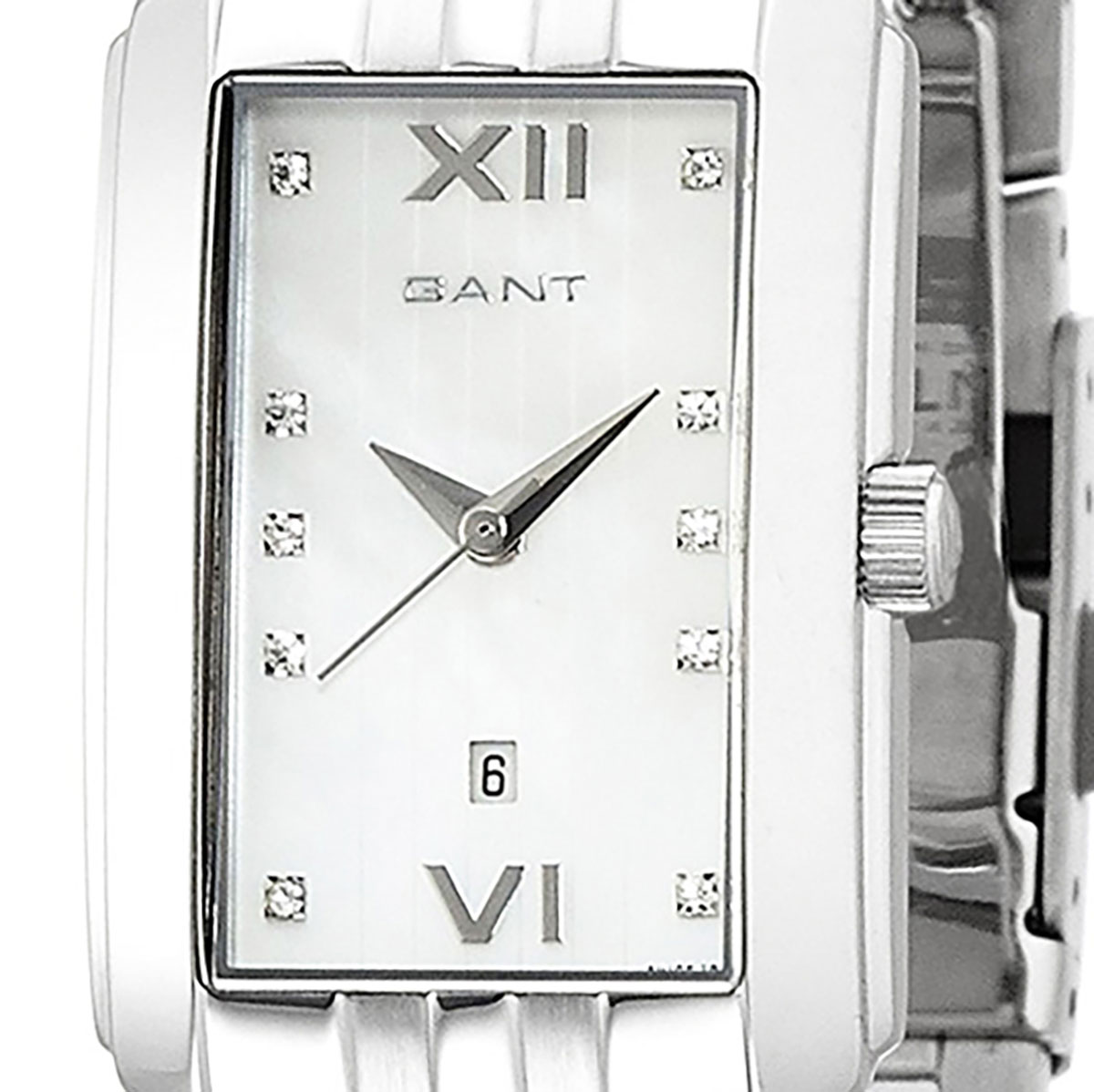 GANT ガント 電池式クォーツ 腕時計 [W10622] 並行輸入品 ホワイト(白)