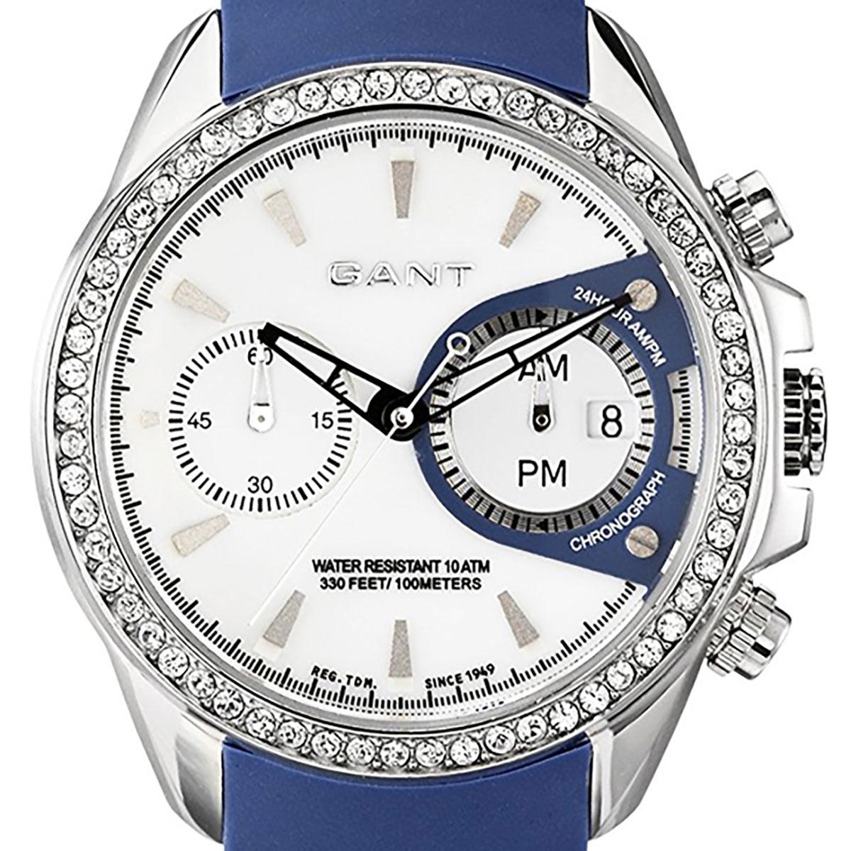 【残り1点】GANT ガント 電池式クォーツ 腕時計 [W10653] 並行輸入品 ホワイト(白)