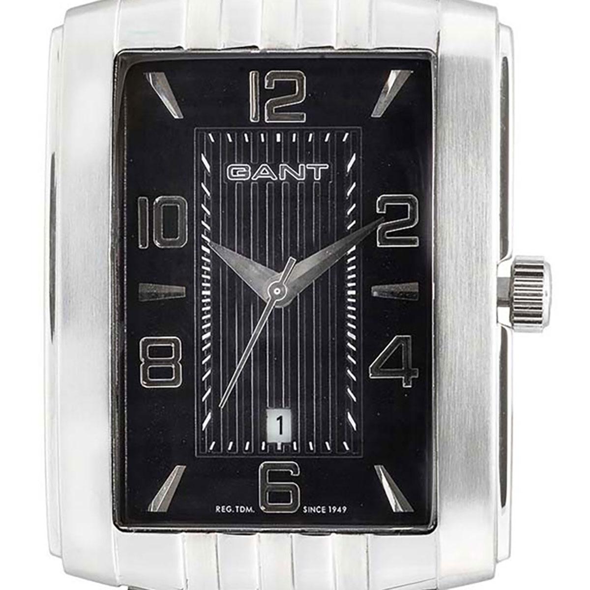 GANT ガント 電池式クォーツ 腕時計 [W10681] 並行輸入品 ブラック(黒)