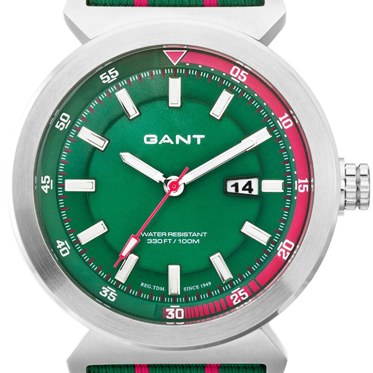 【残り1点】GANT ガント 電池式クォーツ 腕時計 [W70272] 並行輸入品 グリーン(緑)