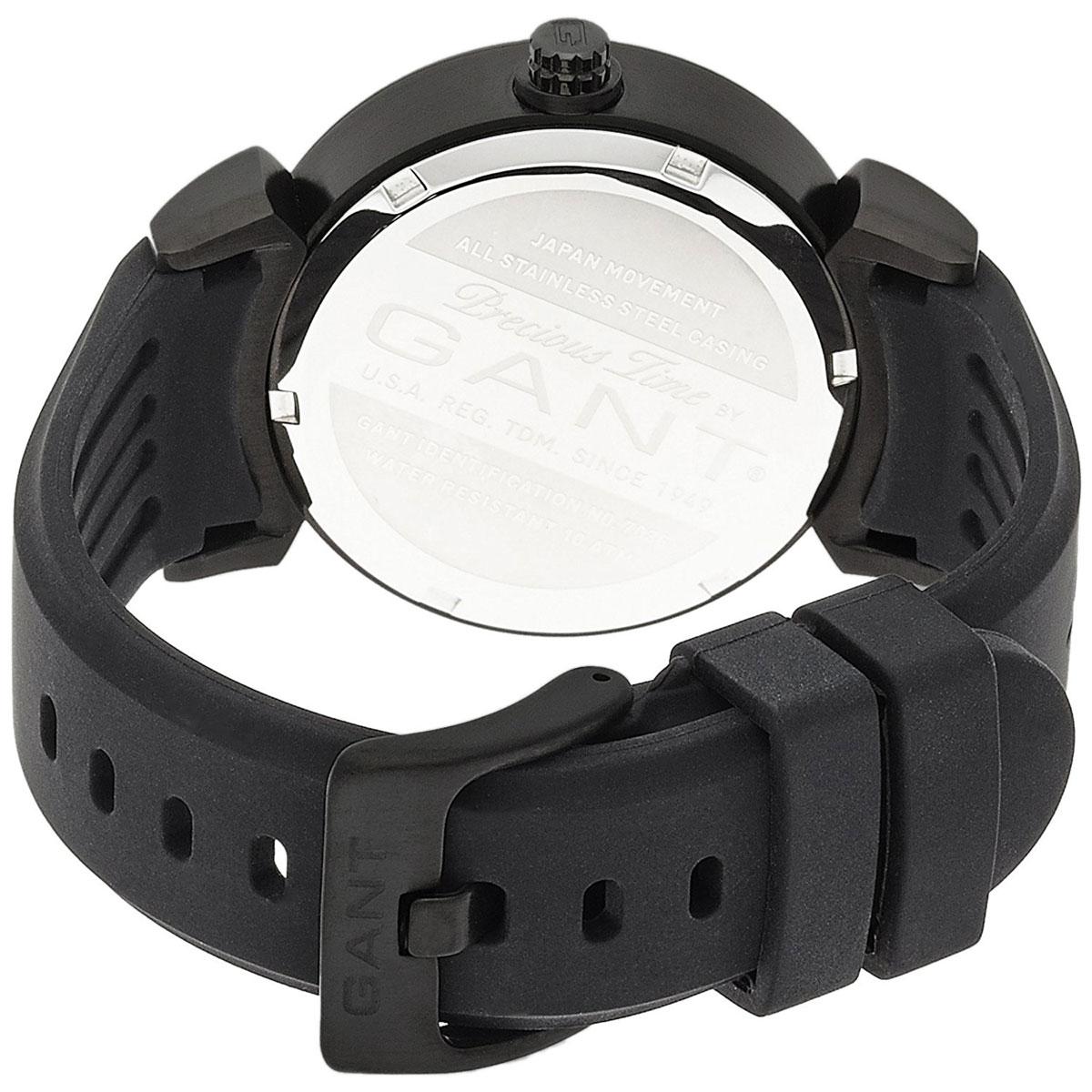 【残り1点】GANT ガント 電池式クォーツ 腕時計 [W70361] 並行輸入品 ブラック(黒)