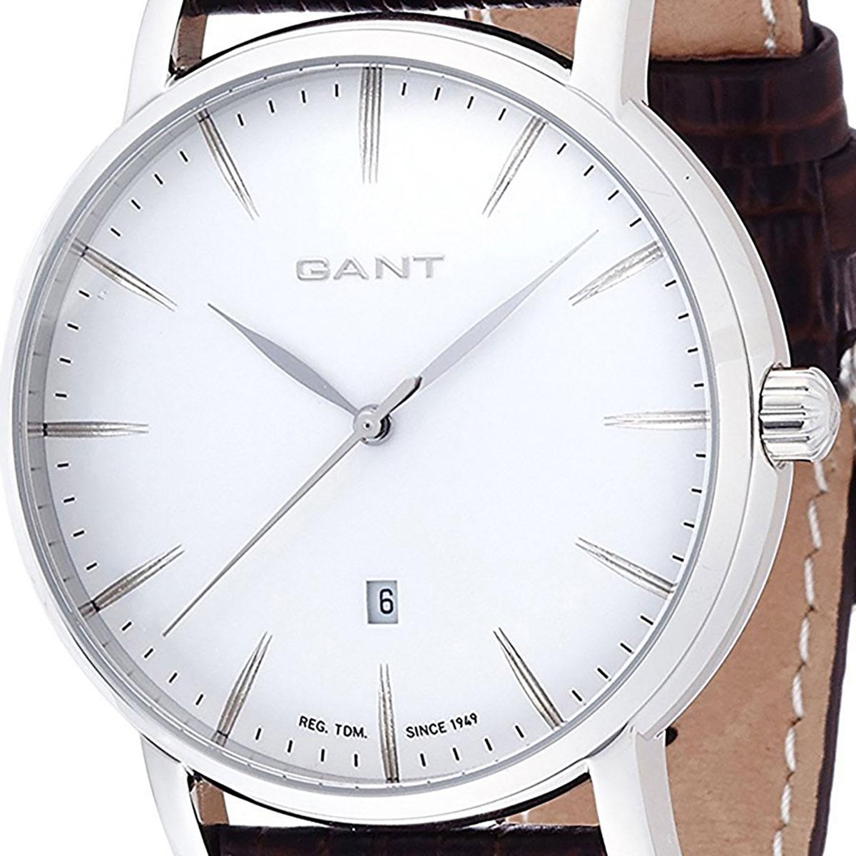 GANT ガント 電池式クォーツ 腕時計 [W70432] 並行輸入品 ホワイト(白)