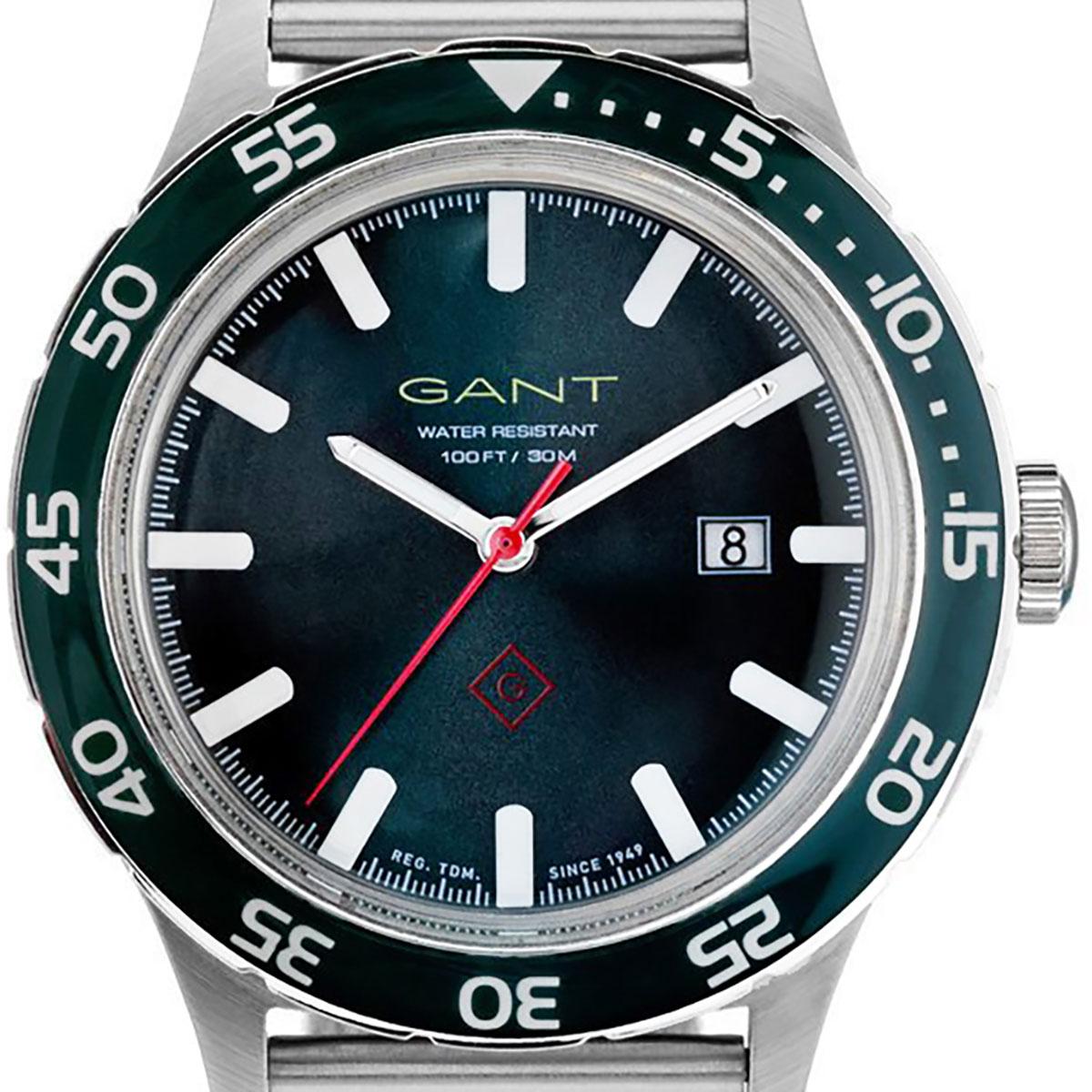GANT ガント 電池式クォーツ 腕時計 [W70451] 並行輸入品 ネイビー(紺)
