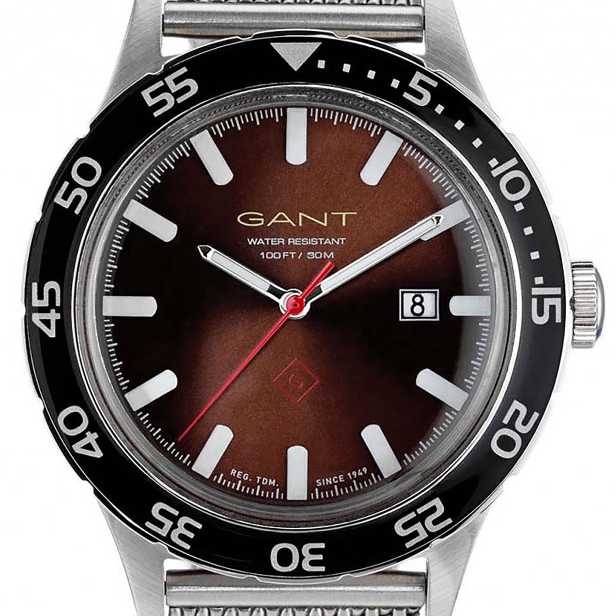 GANT ガント 電池式クォーツ 腕時計 [W70452] 並行輸入品 ブラウン(茶)