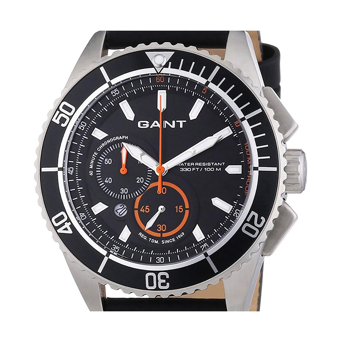 GANT ガント 電池式クォーツ 腕時計 [W70544] 並行輸入品 ブラック(黒)