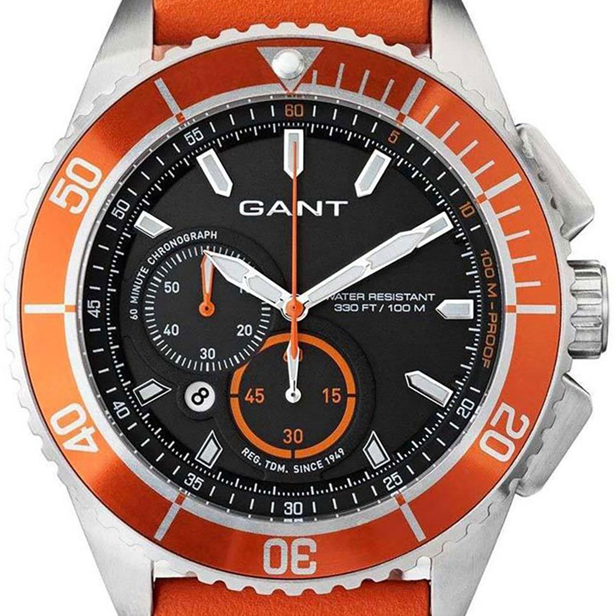 GANT ガント 電池式クォーツ 腕時計 [W70545] 並行輸入品 ブラック(黒)