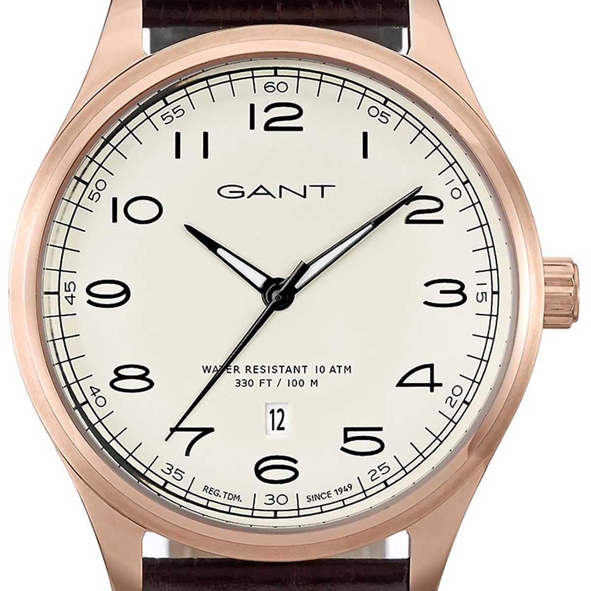 GANT ガント 電池式クォーツ 腕時計 [W71303] 並行輸入品  デイト