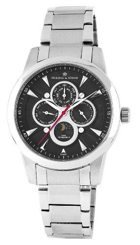 【残り1点】HerzogSohne ヘルツォーク&ゾーネ クォーツ 腕時計 メンズ [HS312-121] 並行輸入品 メーカー保証24ヶ月 純正ケース付き