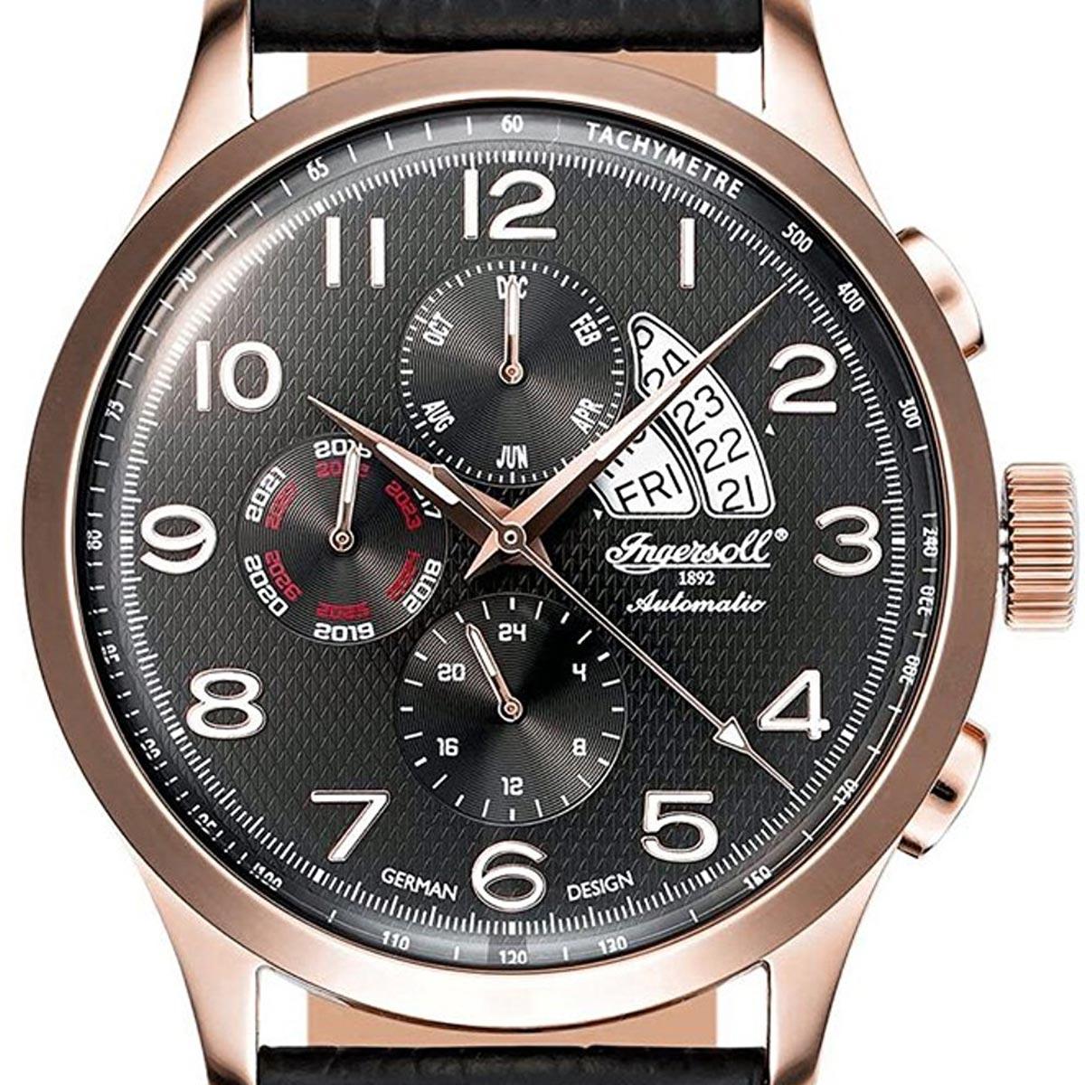 Ingeresoll インガーソル/インガソール 自動巻き 腕時計 [IN1514RBK] 並行輸入品 純正ケース メーカー保証24ヶ月