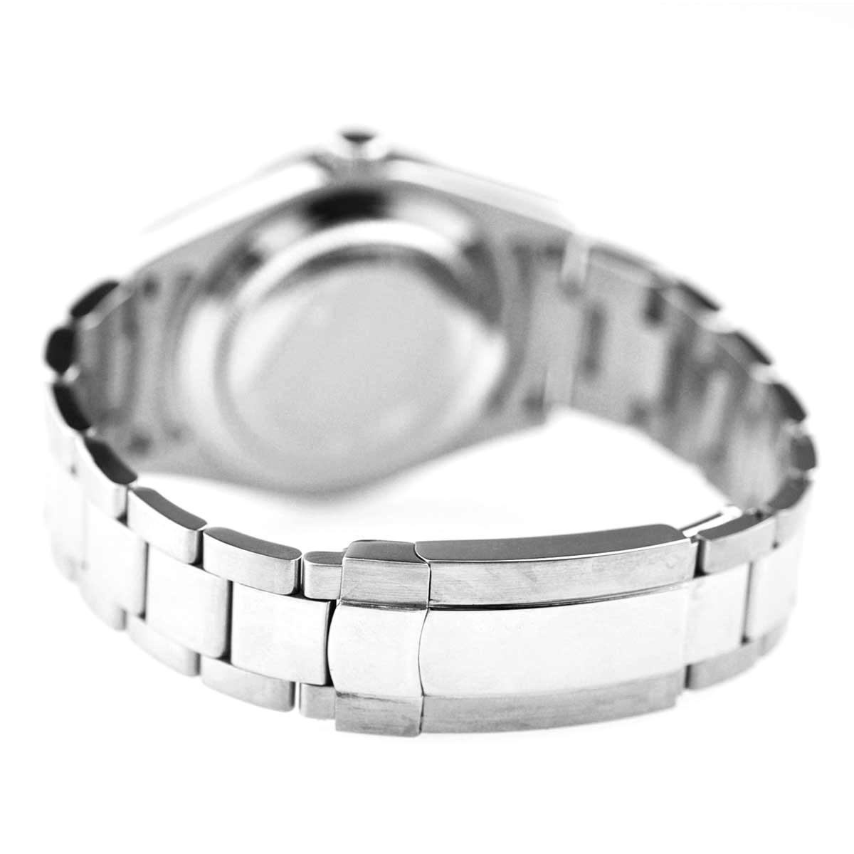 NOLOGO ノーロゴ 機械式腕時計 自動巻 オートマチック デイトジャスト DATE JUST 日付/夜光表示 [ NL-045SW3ASR ] シンプル メンズ【当店保証24ヶ月】