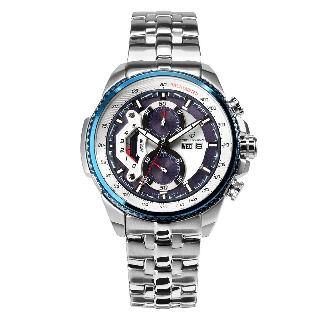 PAGANIDESIGN パガーニ クォーツ 腕時計 メンズ スポーツウォッチ [CX-0002] 並行輸入品 メーカー保証12ヶ月&純正ケース付き