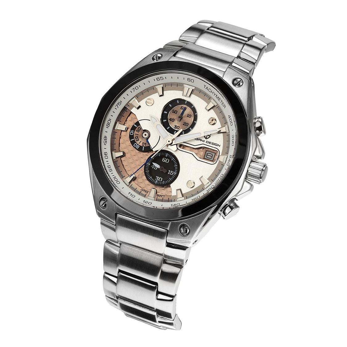 PAGANIDESIGN パガーニ クォーツ 腕時計 メンズ スポーツウォッチCX 0003並行輸入品 メーカー保証12ヶ月 純正ケース付きbf6y7gY