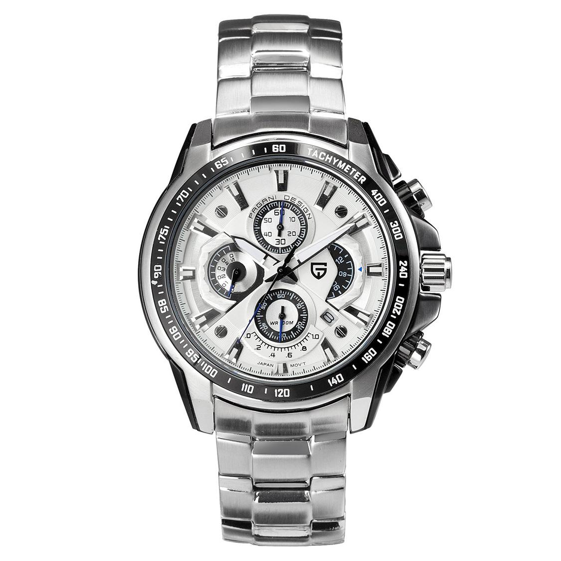 PAGANIDESIGN パガーニ クォーツ 腕時計 メンズ スポーツウォッチ [CX-0005] 並行輸入品 メーカー保証12ヶ月&純正ケース付き