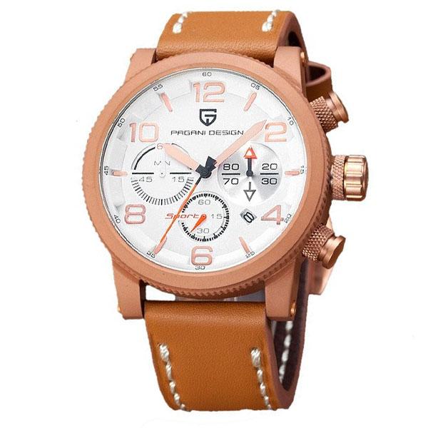 PAGANIDESIGN パガーニ クォーツ 腕時計 メンズ スポーツウォッチ [PD-2702] 並行輸入品 メーカー保証12ヶ月&純正ケース付き