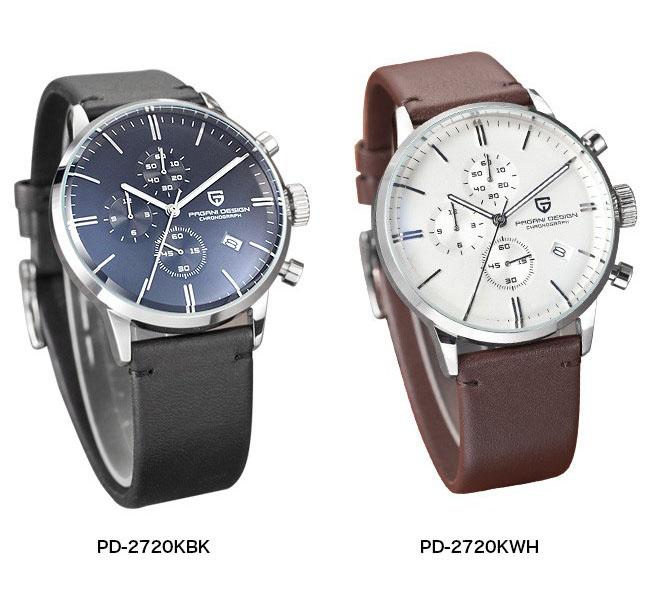 帕加尼 PAGANIDESIGN 石英手表男士运动手表 [PD 2720 K] 平行进口的货品制造商保修 12 个月 & 净积极例