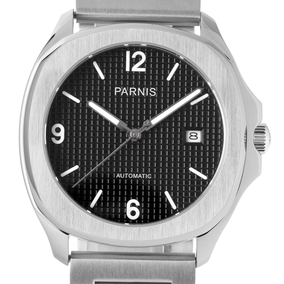 PARNIS パーニス 自動巻き(手巻き機能あり) 腕時計 [P6022-SB-A] 並行輸入品 カレンダー