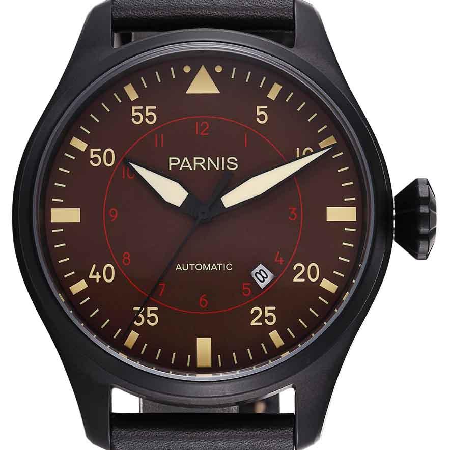 【残り1点】【NEW】PARNIS パーニス クォーツ 腕時計 メンズ [PA2106-S3AL-BKBKw] 並行輸入品 メーカー保証