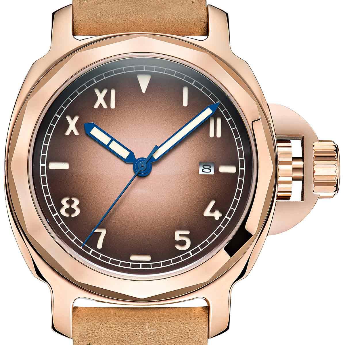 【NEW】PARNIS パーニス 自動巻き 腕時計 [PA6027-S3AL-RGRG] 並行輸入品 純正ケース メーカー保証12ヶ月