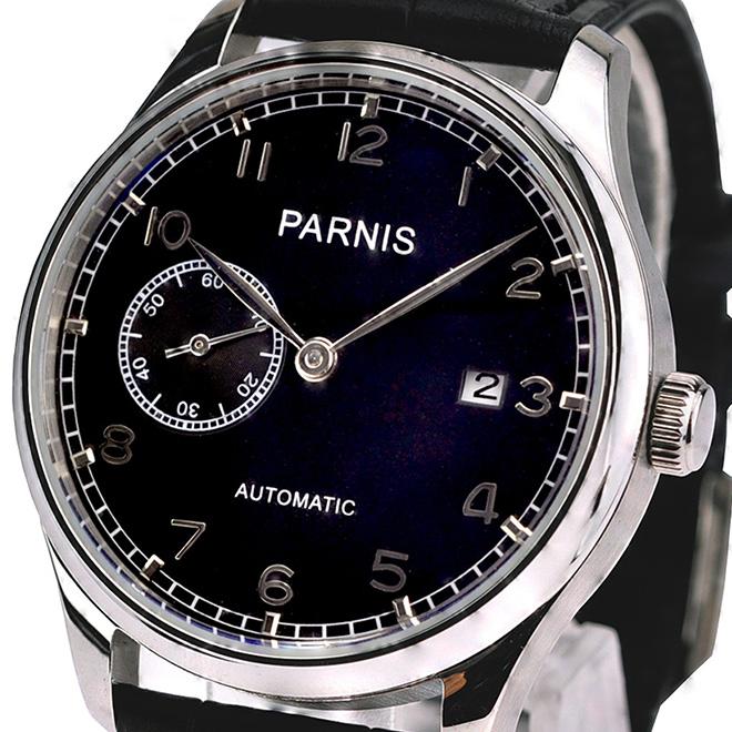 【残り1点】PARNIS パーニス 自動巻き 腕時計 メンズ [PN-031S3AL] 並行輸入品 当店保証24ヵ月