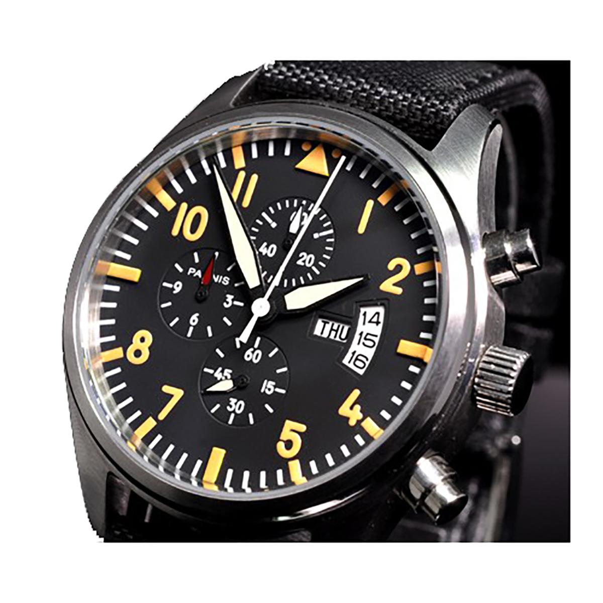 PARNIS パーニス クォーツ 腕時計 メンズ [PN-042B] 並行輸入品 当店保証24ヵ月