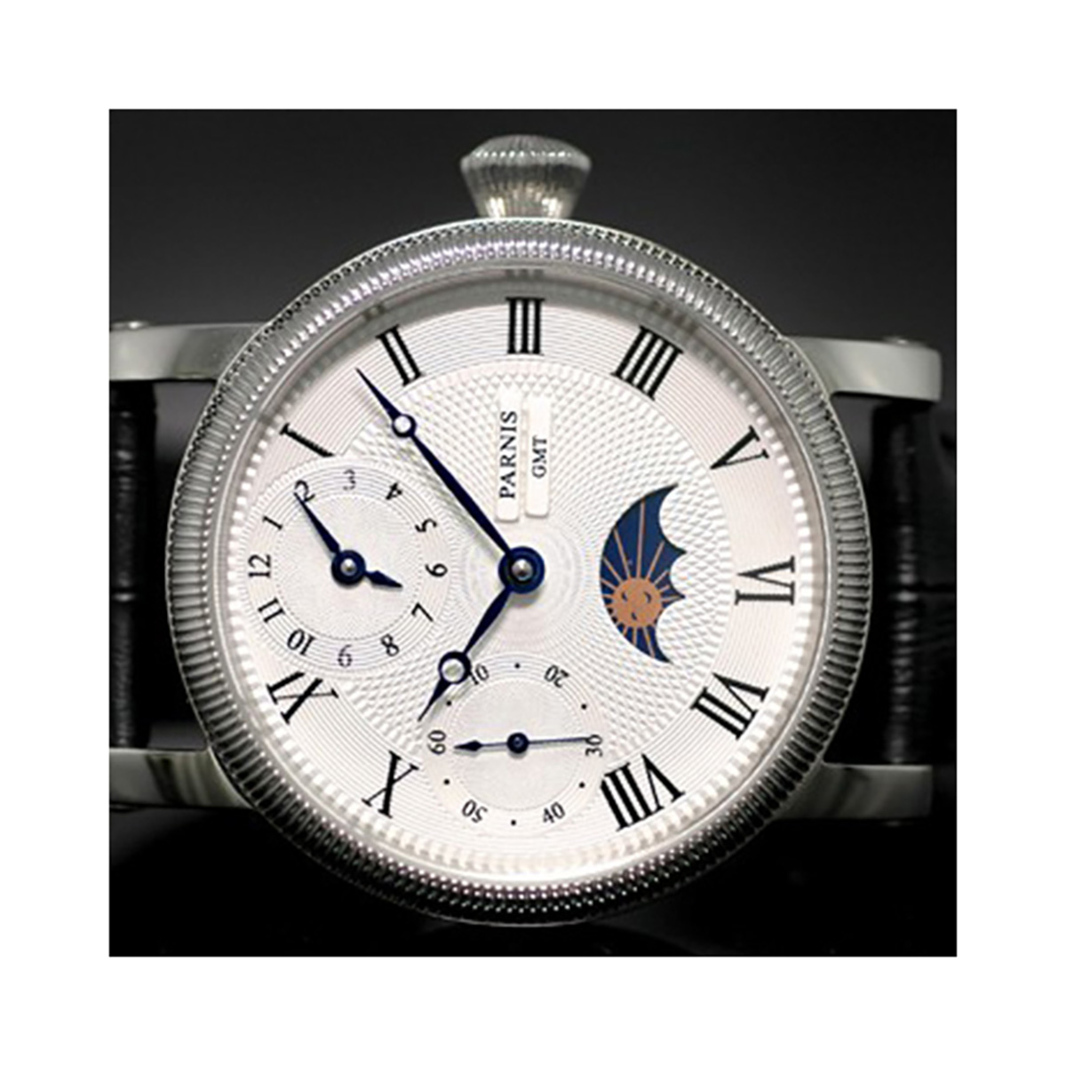 PARNIS パーニス 手巻き 腕時計 メンズ [PN-120S5ML] 並行輸入品 当店保証24ヵ月