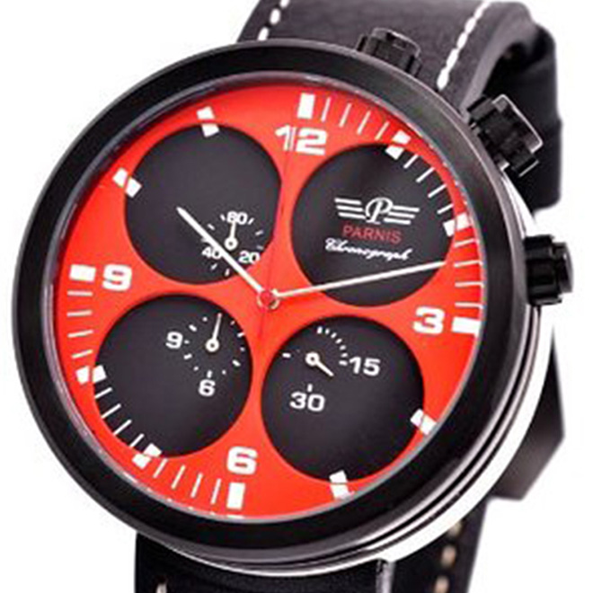 PARNIS パーニス    腕時計 メンズ [pn-505b6el] 並行輸入品 当店保証24ヵ月