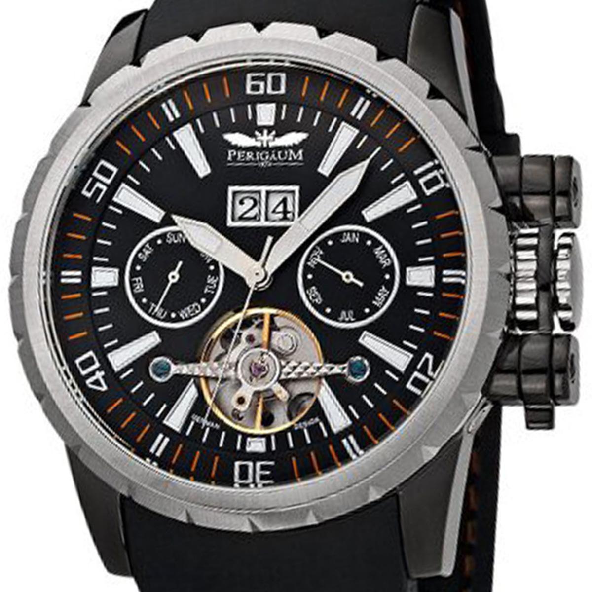 Perigaum ぺリガウム 自動巻き 腕時計 メンズ ウォッチ ドイツ [P-1108-AS-S-PU] 並行輸入品