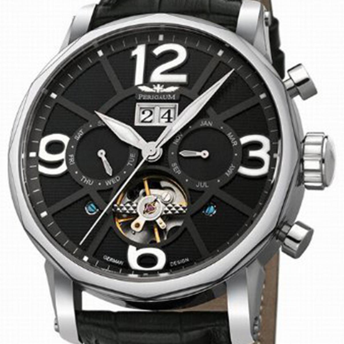 【残り1点】Perigaum ぺリガウム 自動巻き 腕時計 メンズ ウォッチ ドイツ [P-1111-AS-S-Sle] 並行輸入品