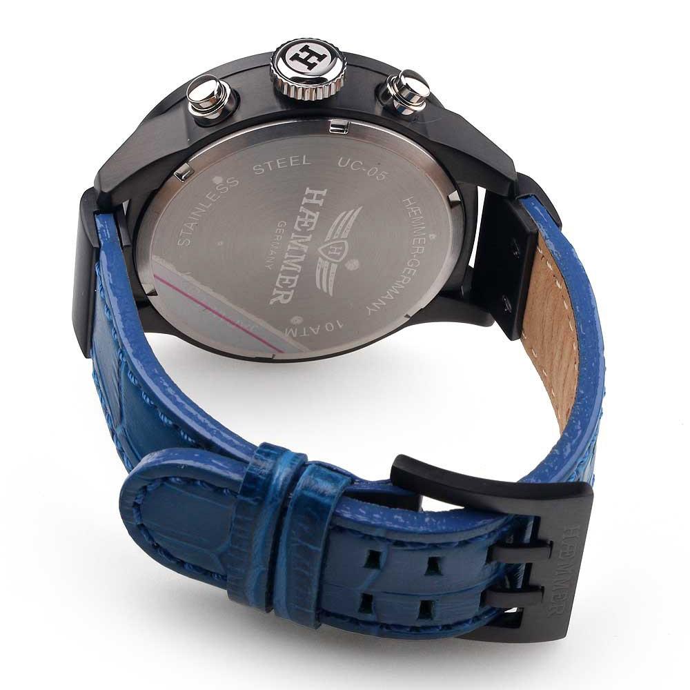 【残り1点】Haemmer ハンマー ドイツ クォーツ 腕時計 ファッション [UC-05] 並行輸入品 純正ケース メーカー保証24ヶ月