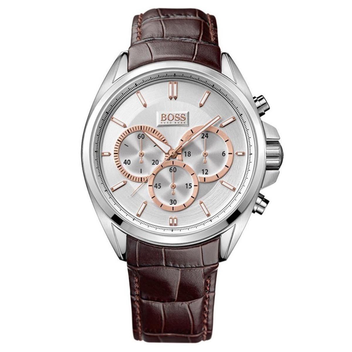 【残り1点】HUGOBOSS ヒューゴボス クォーツ 腕時計 メンズ ウォッチ ブランド [1512881] 並行輸入品 メーカー保証24ヵ月 純正ケース付き