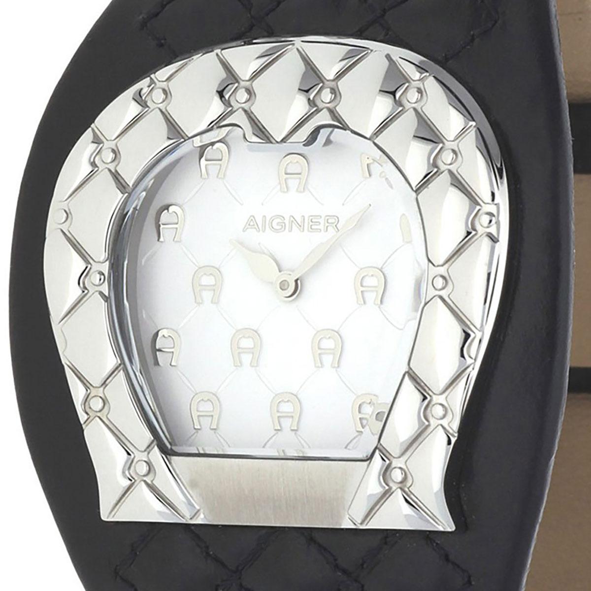AIGNER アイグナー 電池式クォーツ 腕時計 [A41207] 並行輸入品 ホワイト(白)