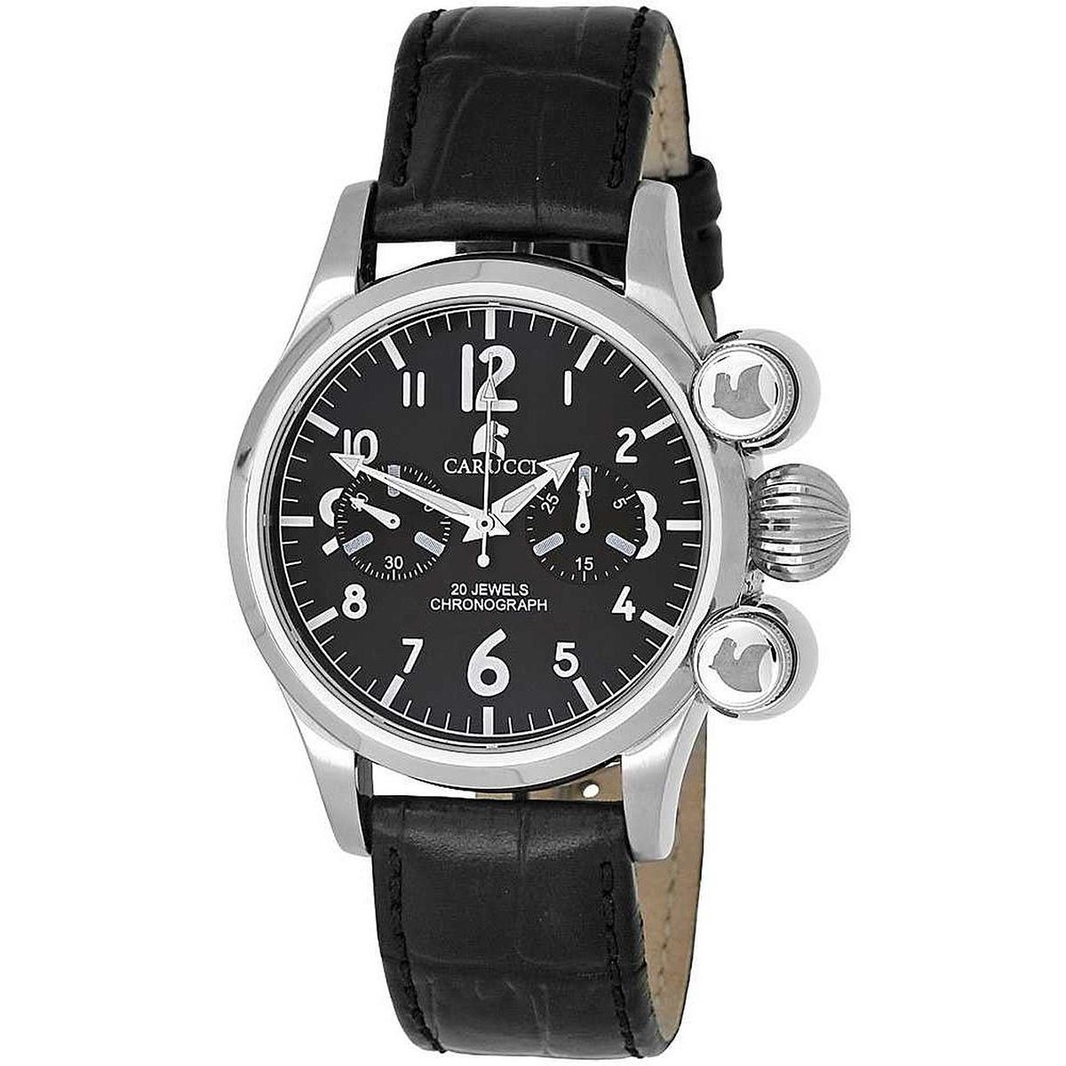 【残り1点】Carucci カルッチ 自動巻き 腕時計 メンズ [CA2148BK] 並行輸入品 メーカー国際保証24ヵ月 純正ケース付き