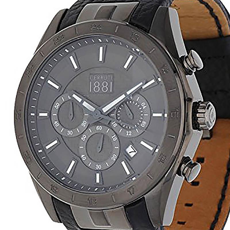 CERRUTI 1881 チェルッティ1881 電池式クォーツ 腕時計 [CRA095F224G-L2] 並行輸入品 純正ケース メーカー保証 24ヶ月 取扱説明書(日本語表記なし)