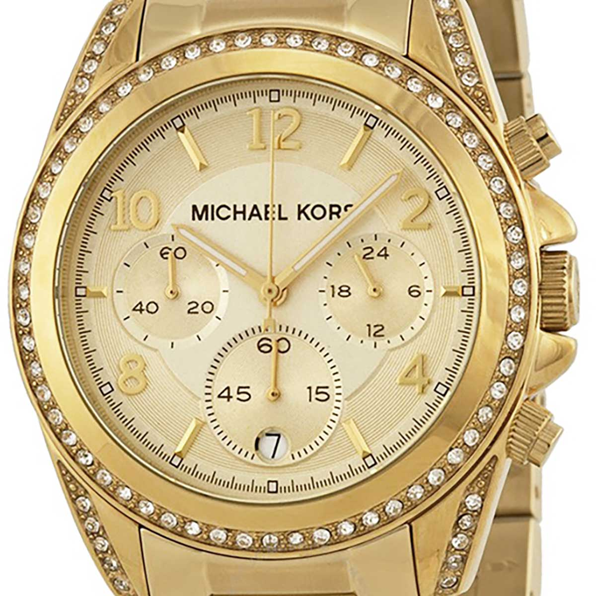 Michael Kors マイケル・コース 電池式クォーツ 腕時計 [MK5166] 並行輸入品  デイト クロノグラフ