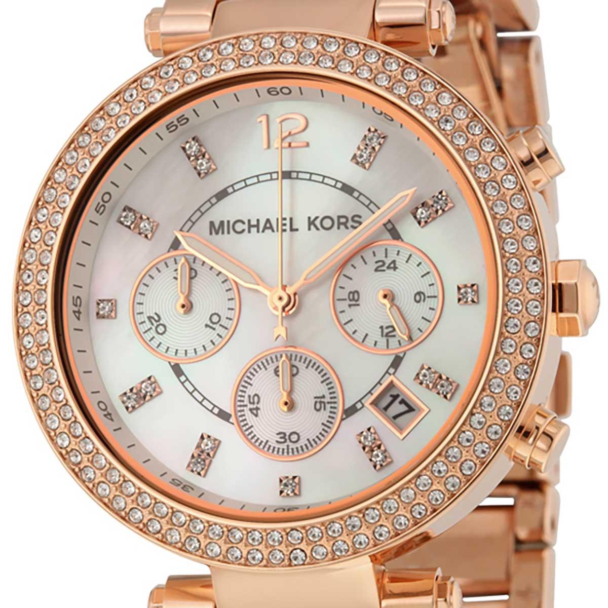 Michael Kors マイケルコース クォーツ 腕時計 米国 ファッションデザイナーズ [MK5491] 並行輸入品 純正ケース メーカー保証