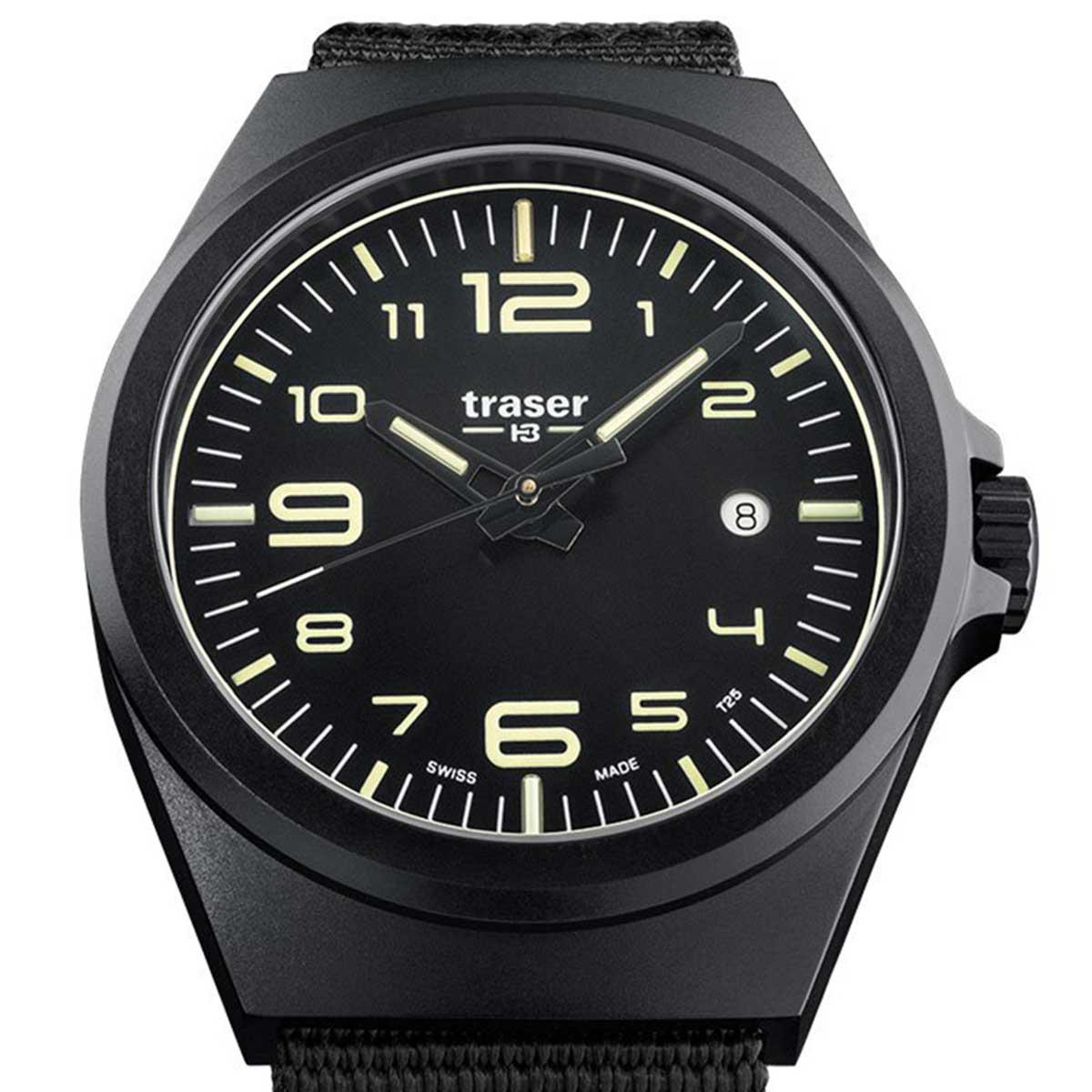 traser トレーサー 電池式クォーツ 腕時計 [P59-108218] 並行輸入品 夜光表記(Trigalight トリガライト)