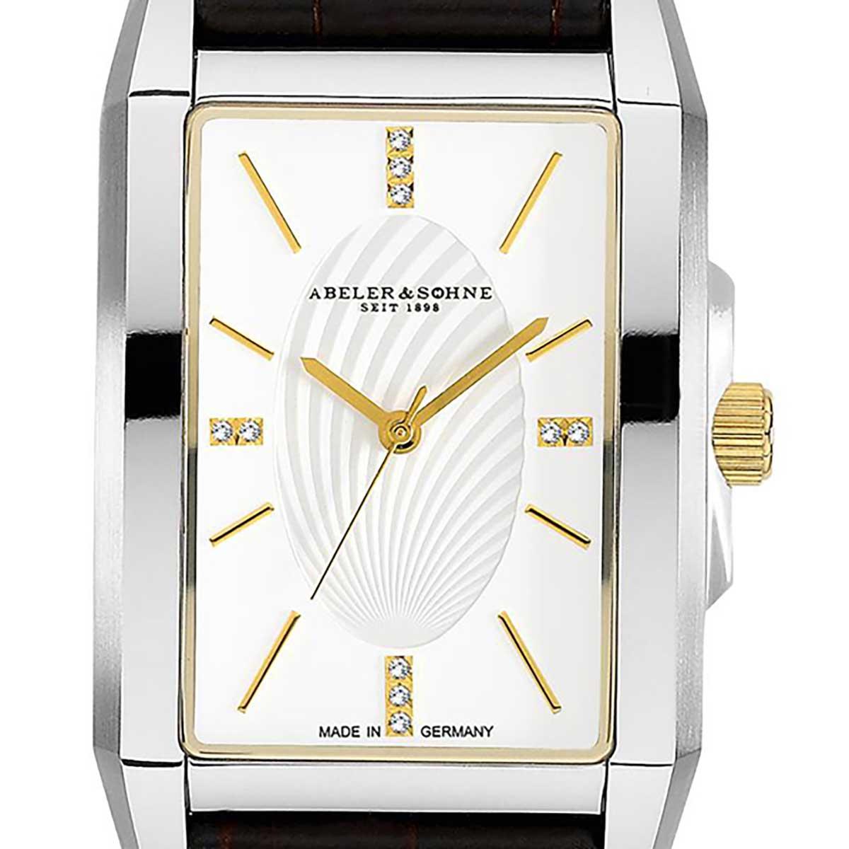 【残り1点】Abeler&Soehne アベラーアンドゾーネ 電池式クォーツ 腕時計 [AS3164] 並行輸入品
