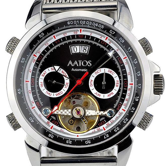 MZI エムゼーアイ 自動巻き 腕時計 メンズ [AGABUSSSB] 並行輸入品【訳アリ価格:メーカー保証なし】