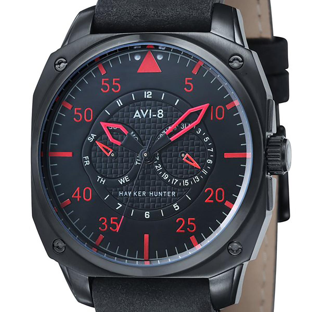 AVI-8 アヴィエイト 電池式クォーツ 腕時計 [AV-4009-03] 並行輸入品 純正ケース メーカー保証 24ヶ月