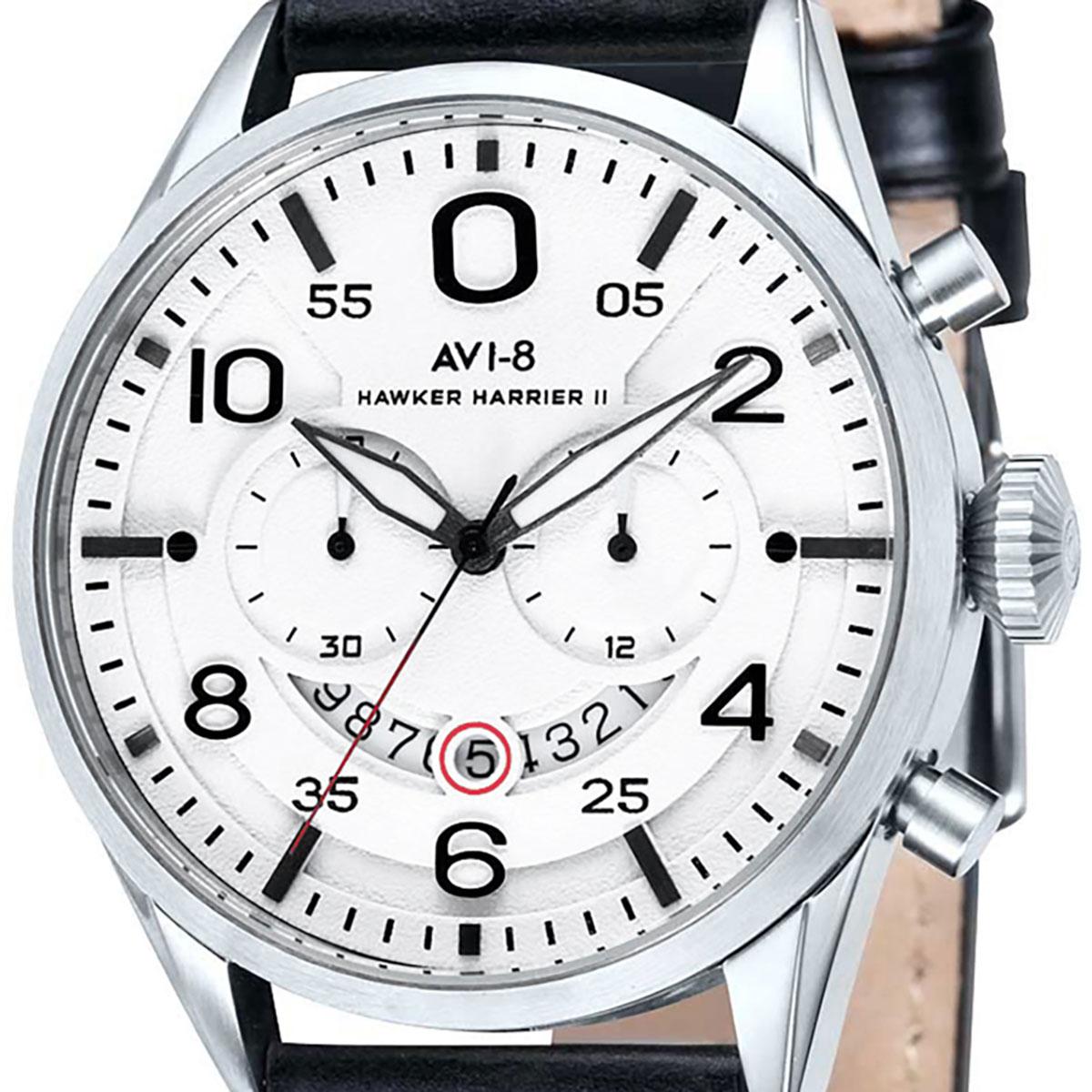 AVI-8 アヴィエイト 電池式クォーツ 腕時計 [AV-4031-01] 並行輸入品  デイト クロノグラフ