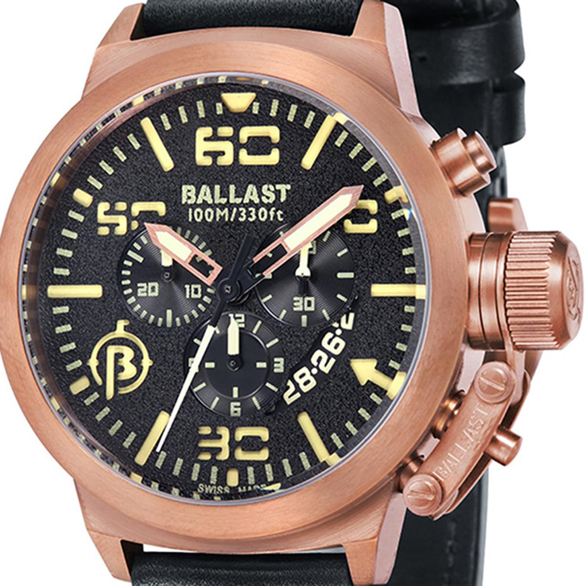 【残り1点】BALLAST バラスト クォーツ 腕時計 メンズ ミリタリー イギリス SWISS MADE [BL-3101-0J] 並行輸入品 純正ケース メーカー保証24ヶ月