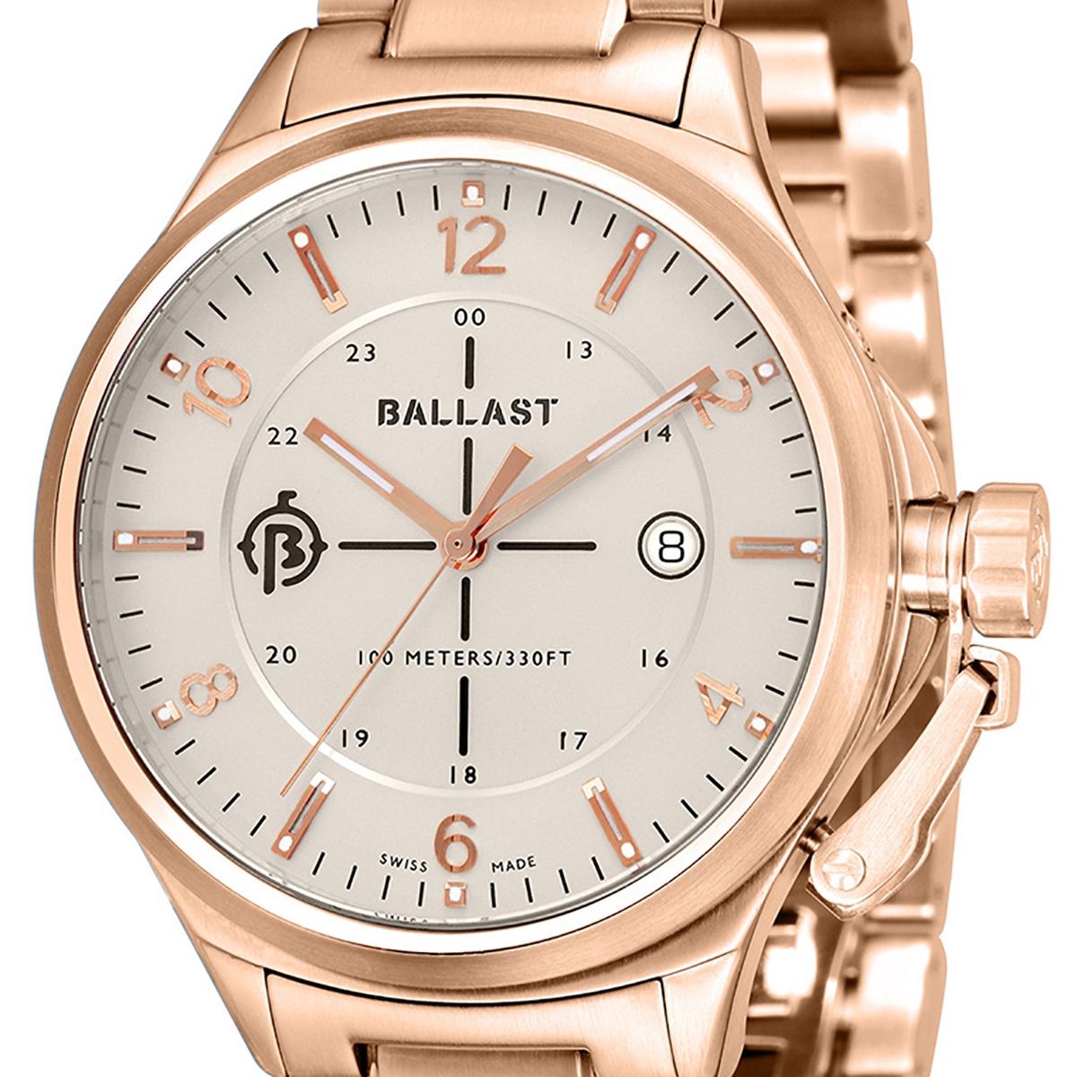 BALLAST バラスト クォーツ 腕時計 メンズ ミリタリー イギリス SWISS MADE [BL-3125-33] 並行輸入品 純正ケース メーカー保証24ヶ月