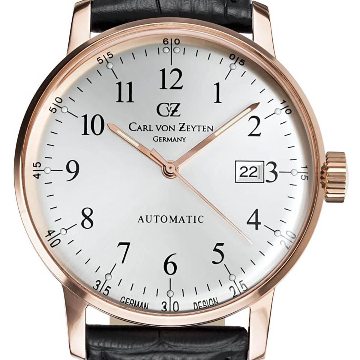 Carl von Zeyten カール・フォン・ツォイテン 自動巻き(手巻き機能あり) 腕時計 [CvZ0009RWH] 正規品  デイト