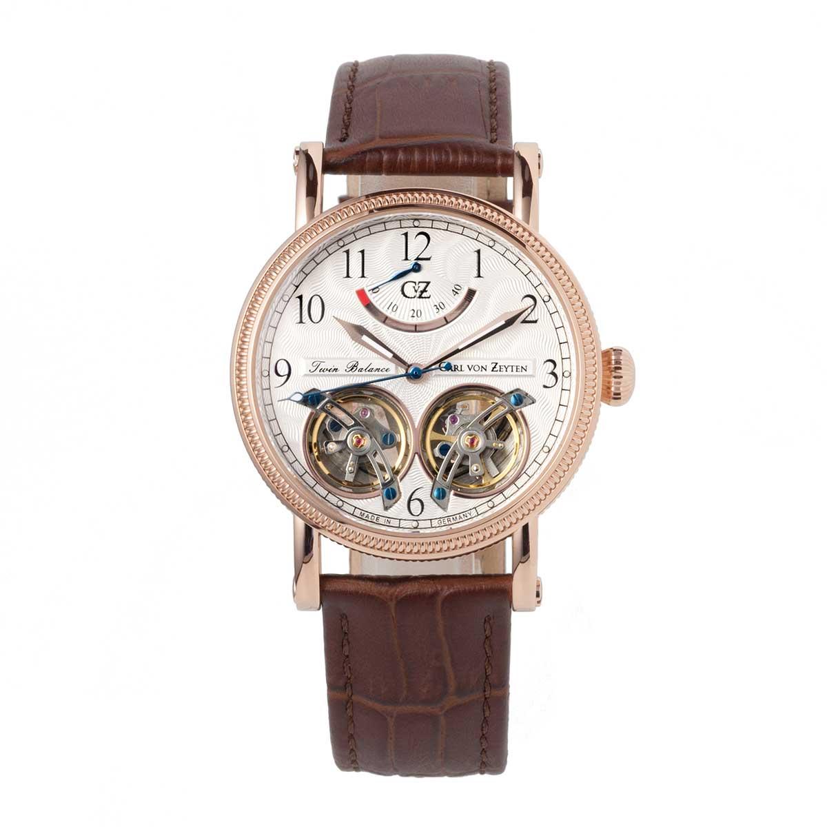 Carl von Zeyten カール・フォン・ツォイテン 自動巻き(手巻き機能あり) 腕時計 [CvZ0033RWH] 並行輸入品