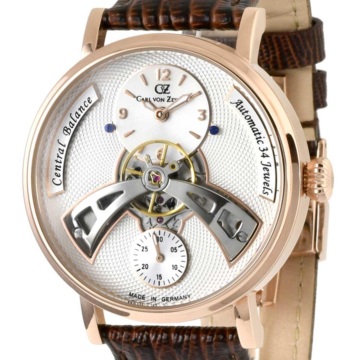 Carl von Zeyten カール・フォン・ツォイテン 自動巻き(手巻き機能あり) 腕時計 [CvZ0042RWH] 正規代理店品