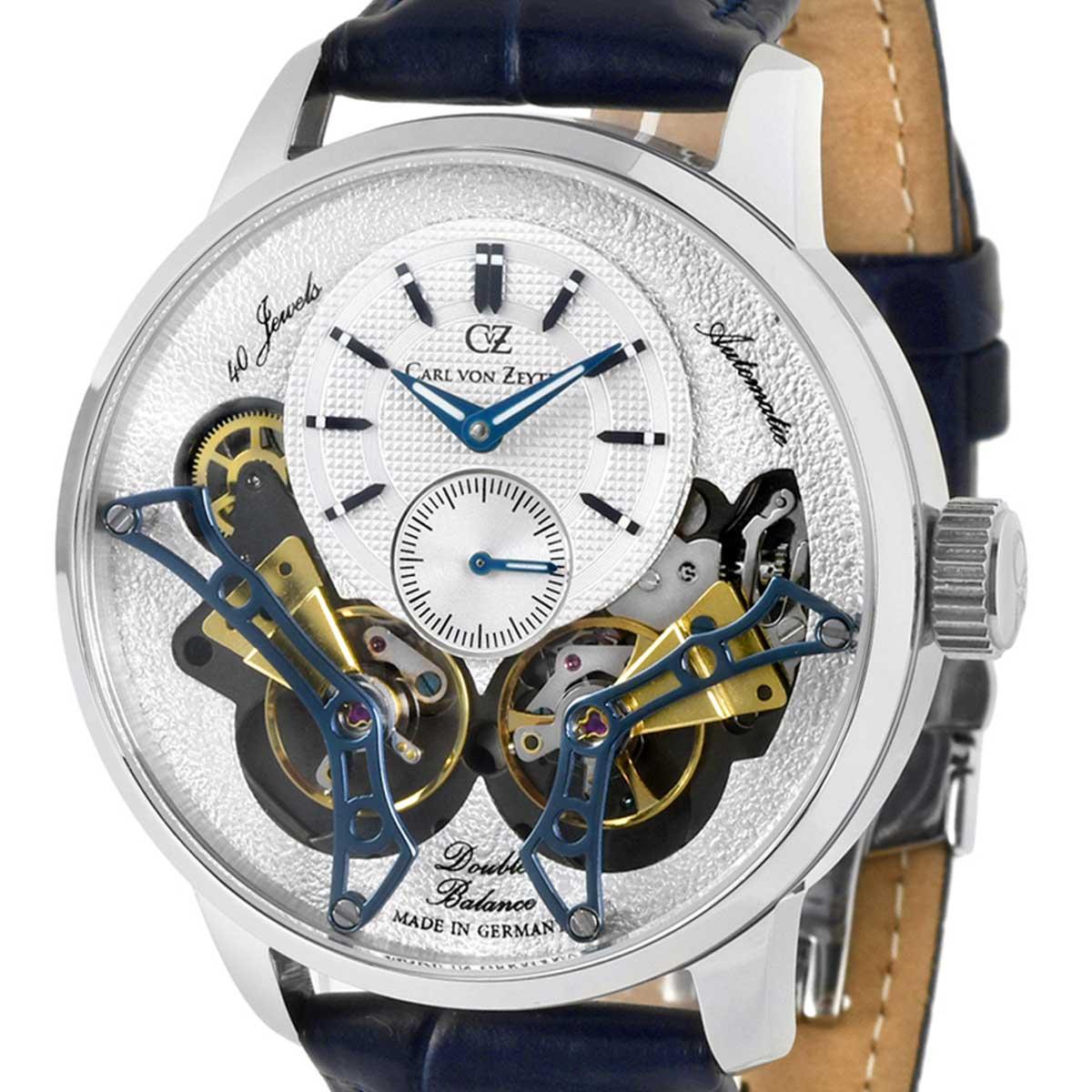 Carl von Zeyten カール・フォン・ツォイテン 自動巻き(手巻き機能あり) 腕時計 [CvZ0064WH] 正規代理店品