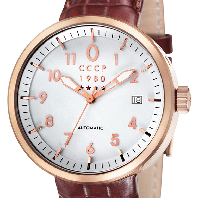 CCCP シーシーシーピー(エスエスエスエル) 自動巻き 腕時計 メンズ ファッション ロシア [CP-7008-04] 並行輸入品 純正ケース メーカー保証24ヶ月