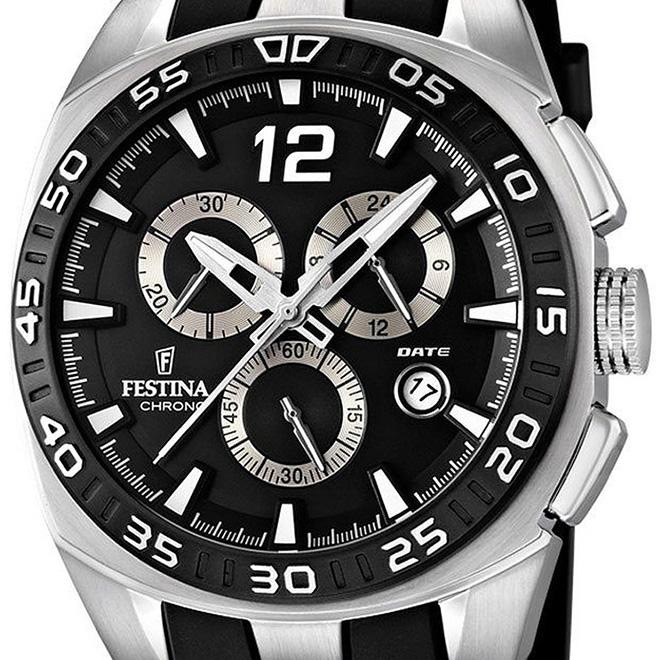 【残り1点】FESTINA フェスティナ クォーツ 腕時計 メンズ スポーツウォッチ [F16668-6] 並行輸入品
