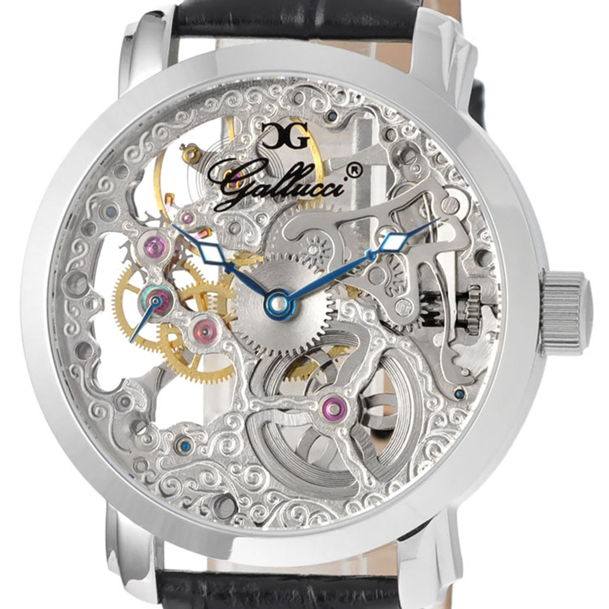 Gallucci ガルーチ 手巻き 腕時計 [WT22200SK-ST] 並行輸入品
